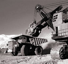 For mining firms being big