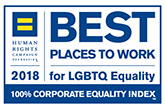 Best Places to Work for LGBT Equality 2018, Human Rights Campaign