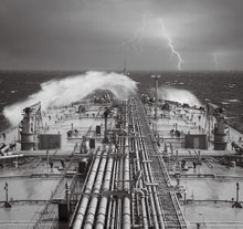 Steering through the oil storm